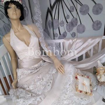 bbe0187f4 Vestido novia largo - Bombom